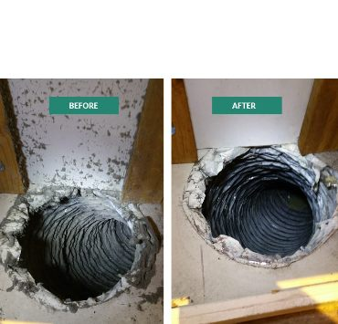Before After Duct Cleaning Melbourne