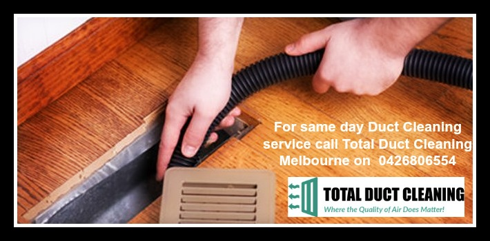 Totalduct Cleaning Melbourne sharing
